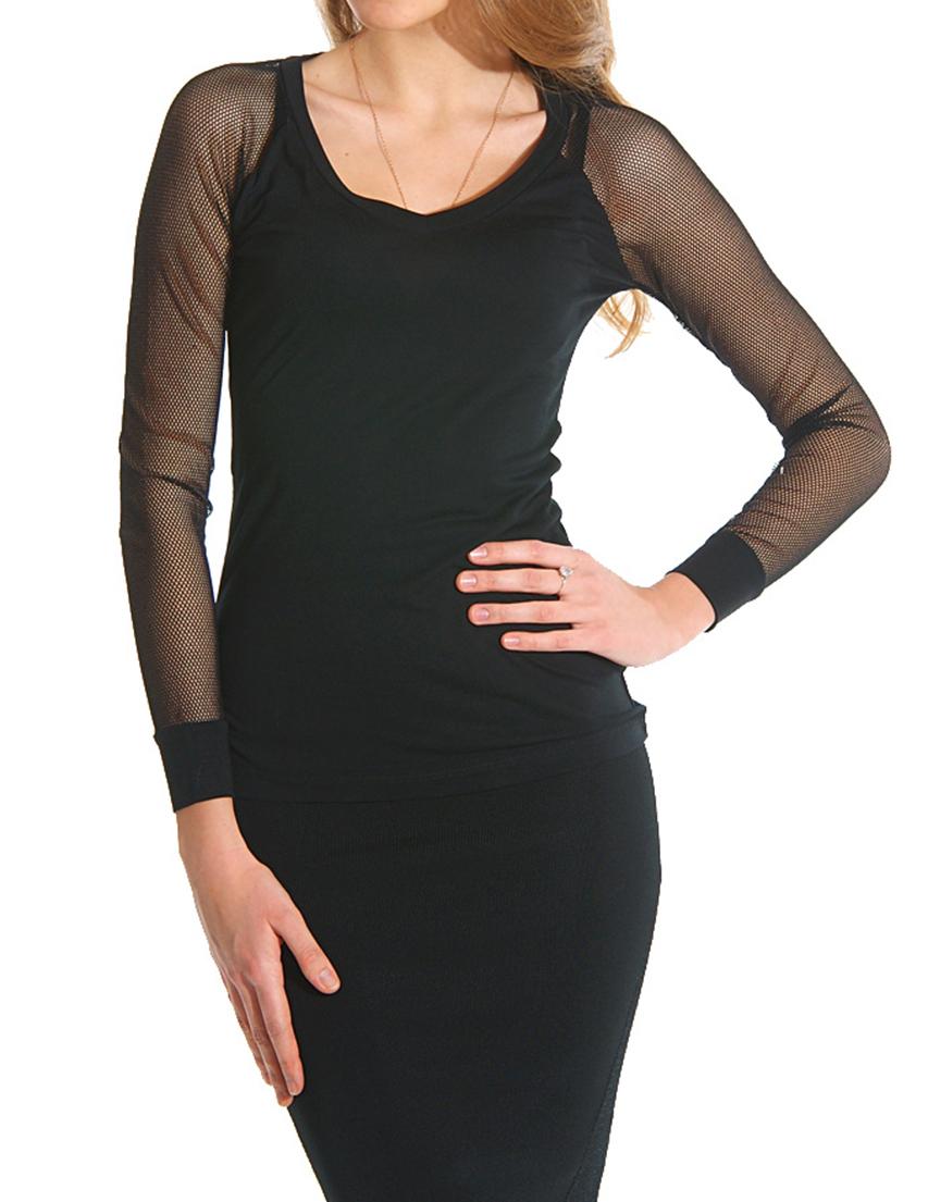 Купить Блузы, Блуза, GUESS BY MARCIANO, Черный, 100%Вискоза, Весна-Лето