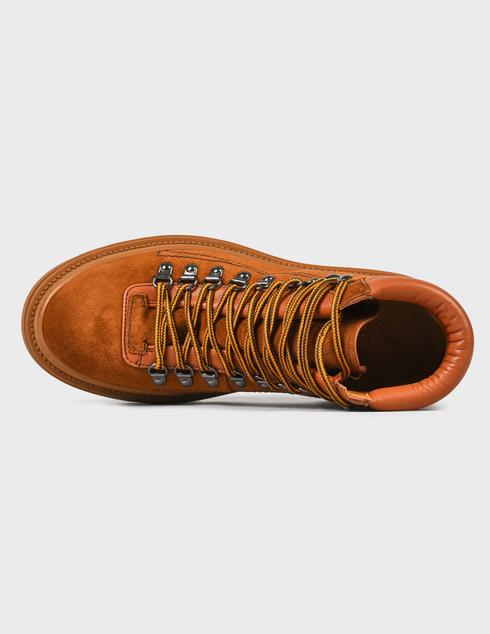 мужские коричневые замшевые Ботинки Fabi FU0346B-824 - фото-5