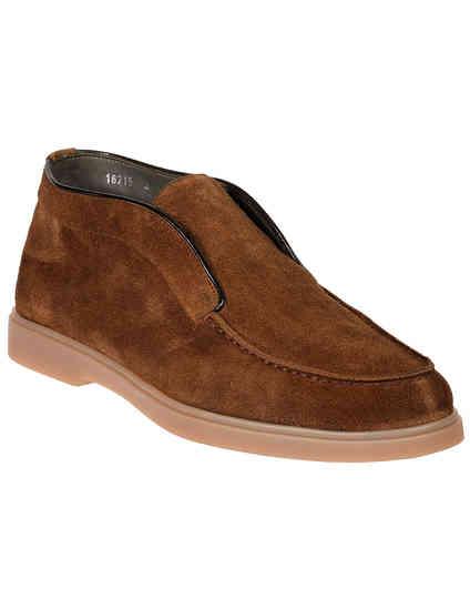 мужские коричневые Ботинки Santoni SMGYG16715TISAPMSM39_brown - фото-2