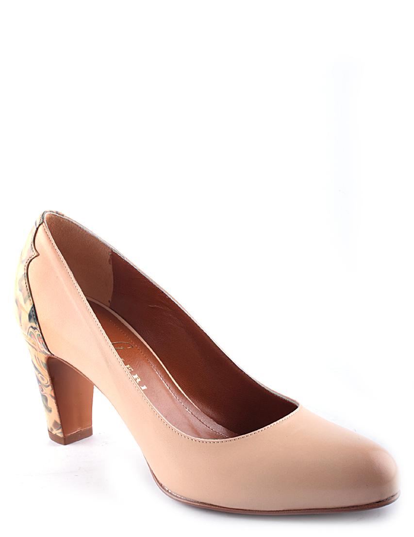 Купить Туфли, GIBELLIERI, Бежевый, Осень-Зима