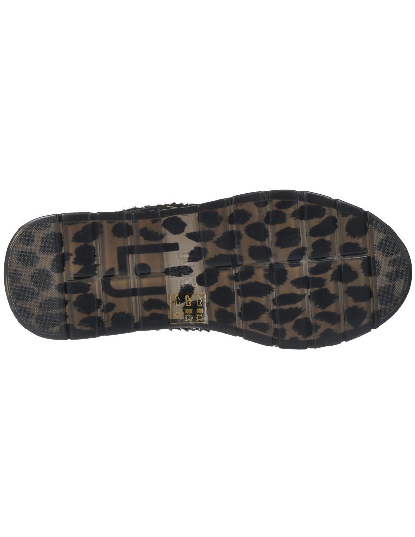 Текстильные чёрные кроссовки LIU JO (ITALY)