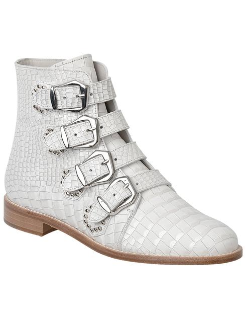 женские бежевые Ботинки Pertini 191W15844D2 - фото-2