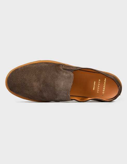 коричневые мужские Слипоны Henderson Baracco AGR-RODI.0 9970 грн