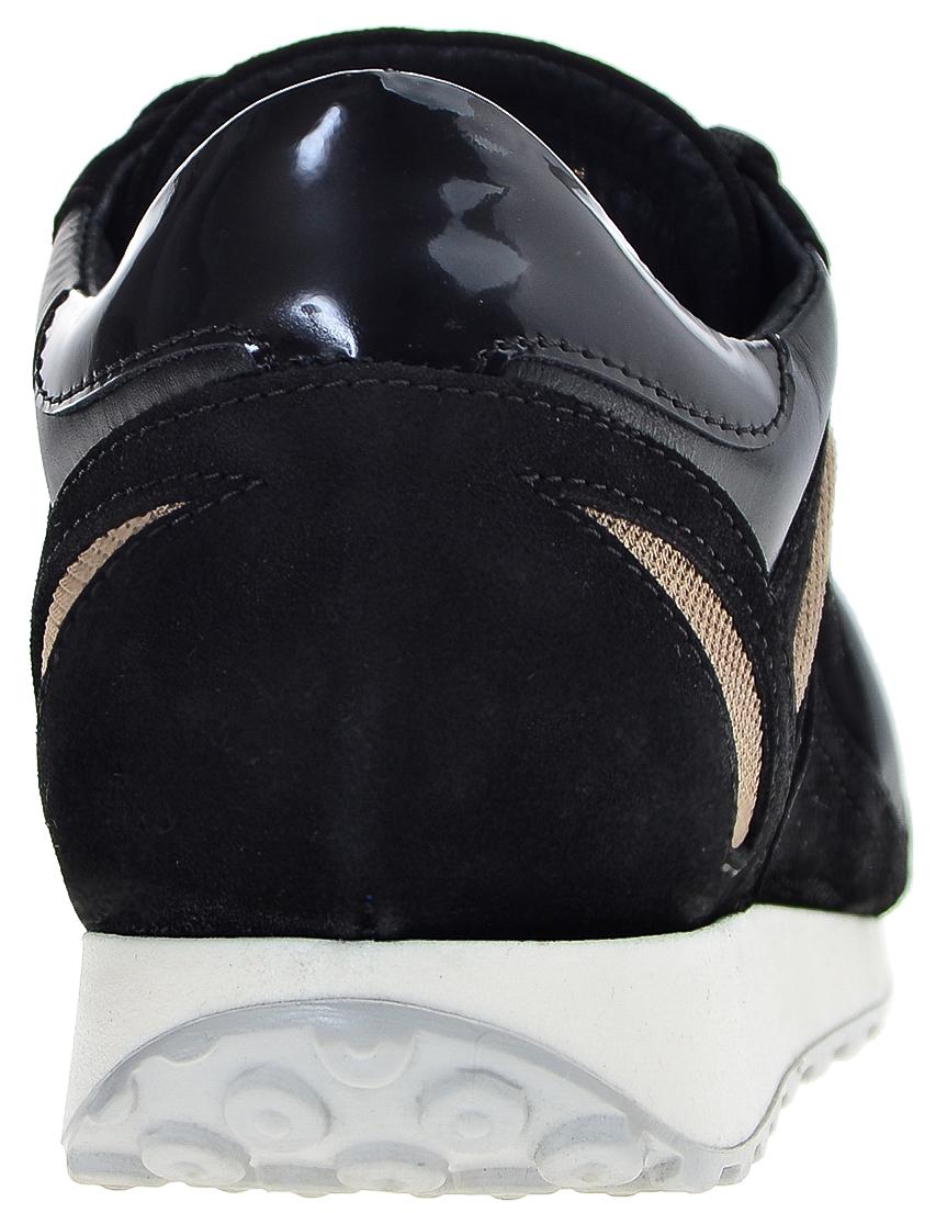 Фото 2 - мужские кроссовки  черного цвета