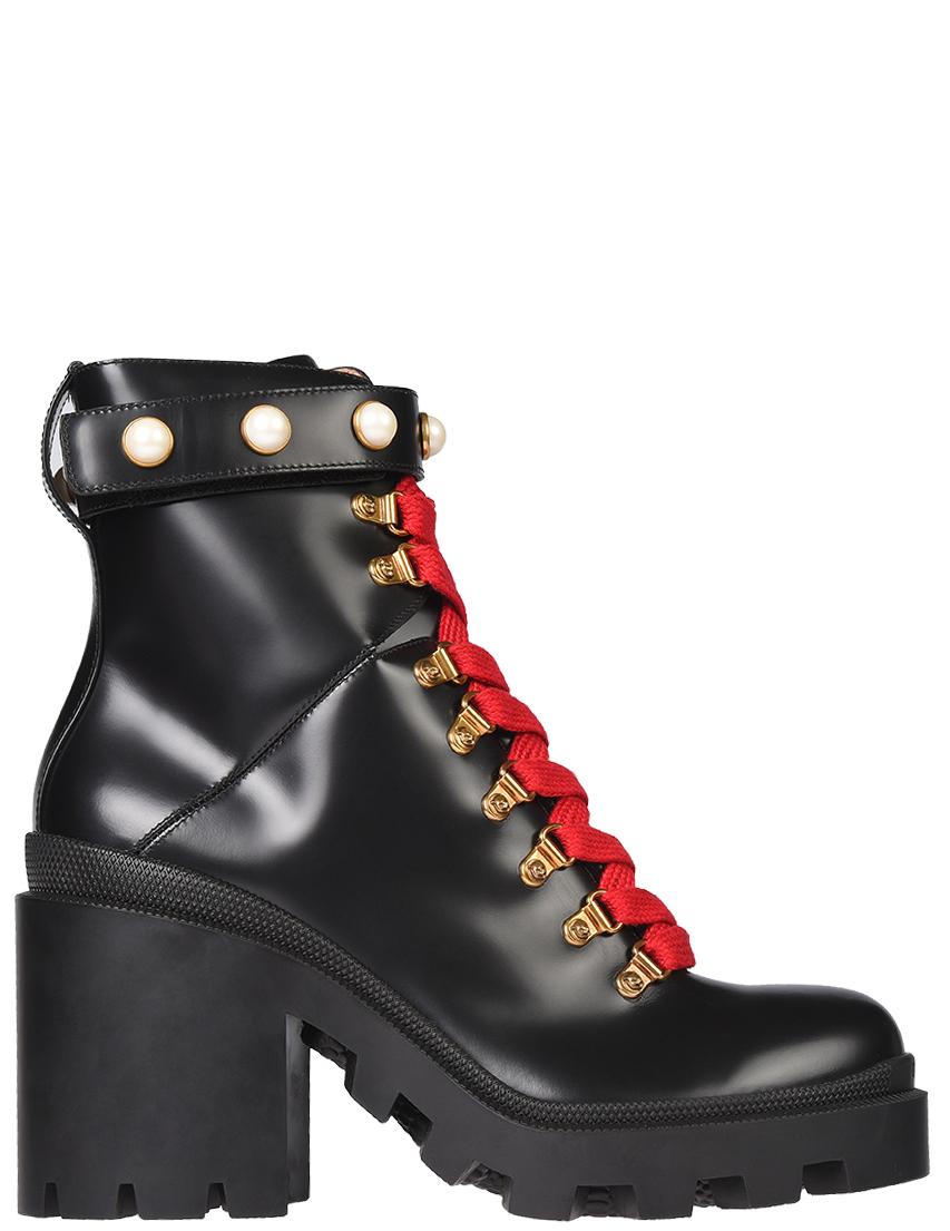 Женские ботинки Gucci 497372DKS001000-1819_black