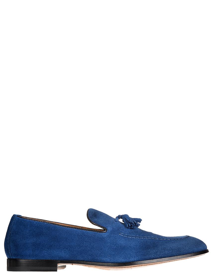 Мужские лоферы DoucalS S1080-BLUE