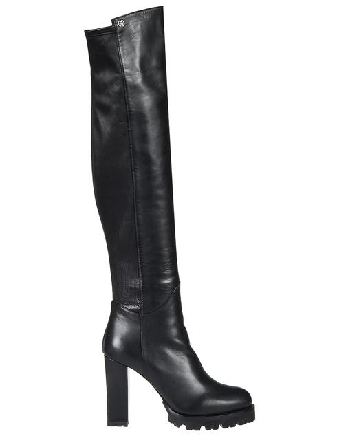 черные Ботфорты Nando Muzi 106-ZM_black размер - 38