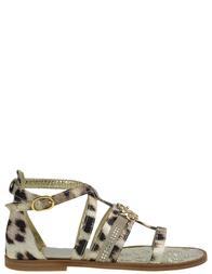 Детские сандалии для девочек ROBERTO CAVALLI C41538_leo