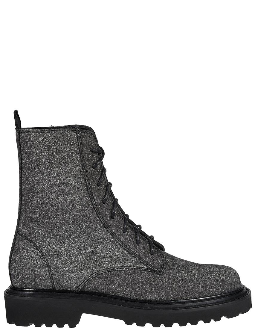 Купить Ботинки, VIC MATIE, Серебряный, 100%Кожа, Осень-Зима