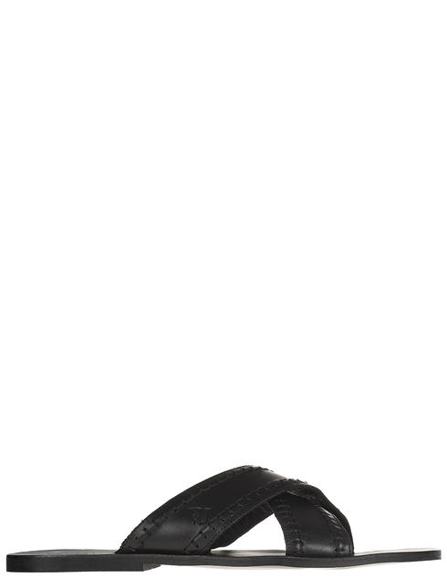 мужские черные Шлепанцы Trussardi AGR-77A000889Y099999 - фото-2
