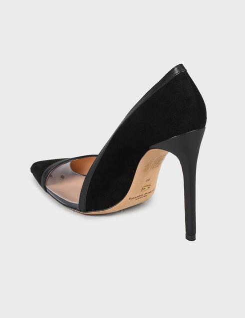 женские черные Туфли Elisabetta Franchi nSA-05Y-90EC-V302 - фото-2
