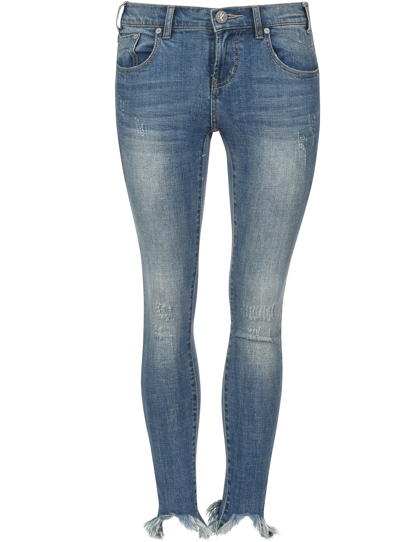 Женские джинсы ONETEASPOON 20960-LONG-oxford_blue