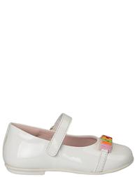 Детские туфли для девочек MOSCHINO 25258_whiteL