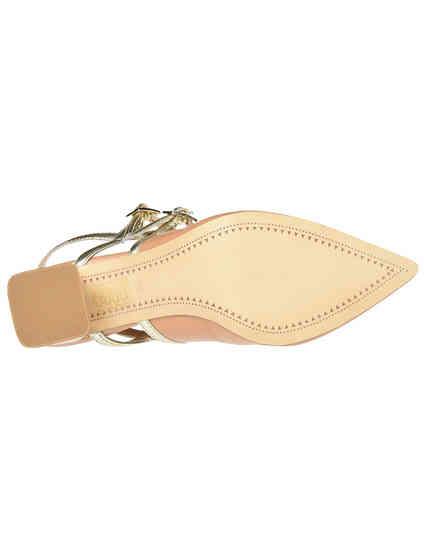 женские бежевые кожаные Босоножки Bruno Premi 7404_beige - фото-5