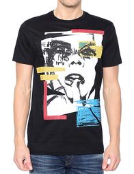 Мужская футболка ANTONY MORATO KS01124FA1000649000_black
