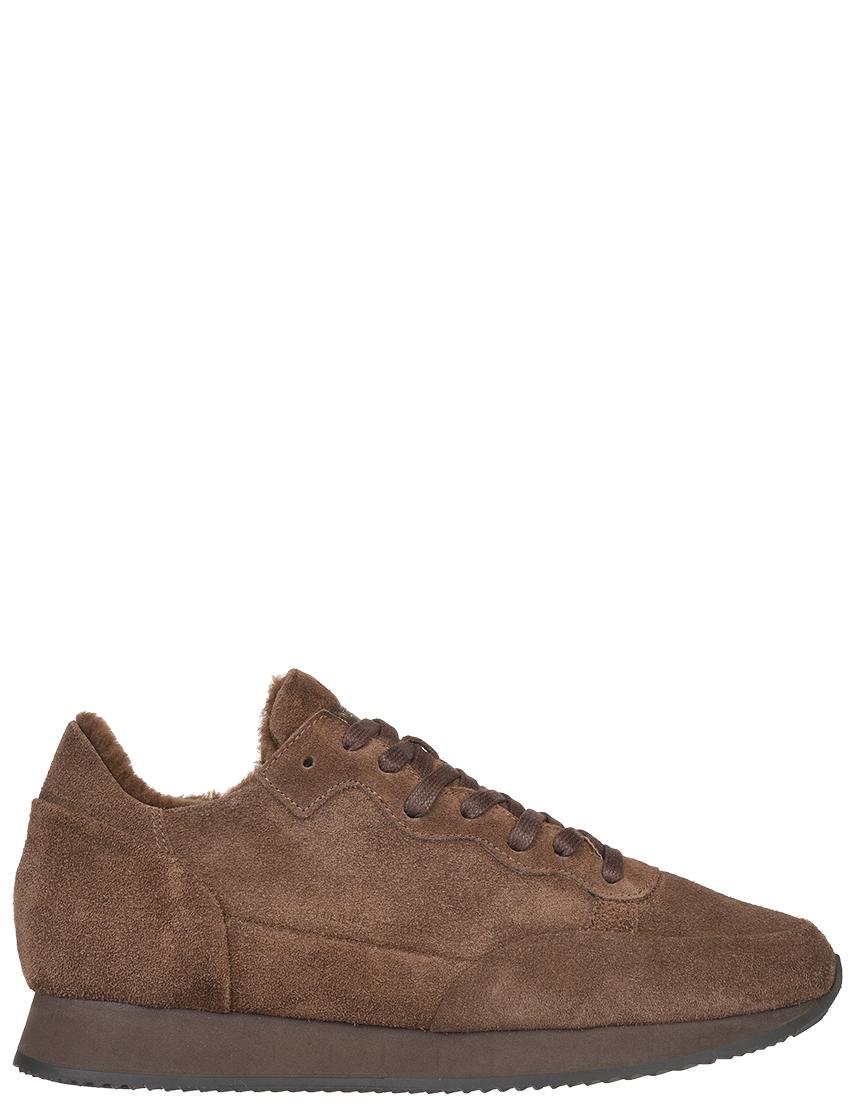 Мужские кроссовки Philippe Model DM01_brown