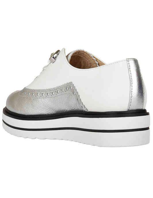 белые женские Оксфорды Tine's AGR-6611_white 5200 грн