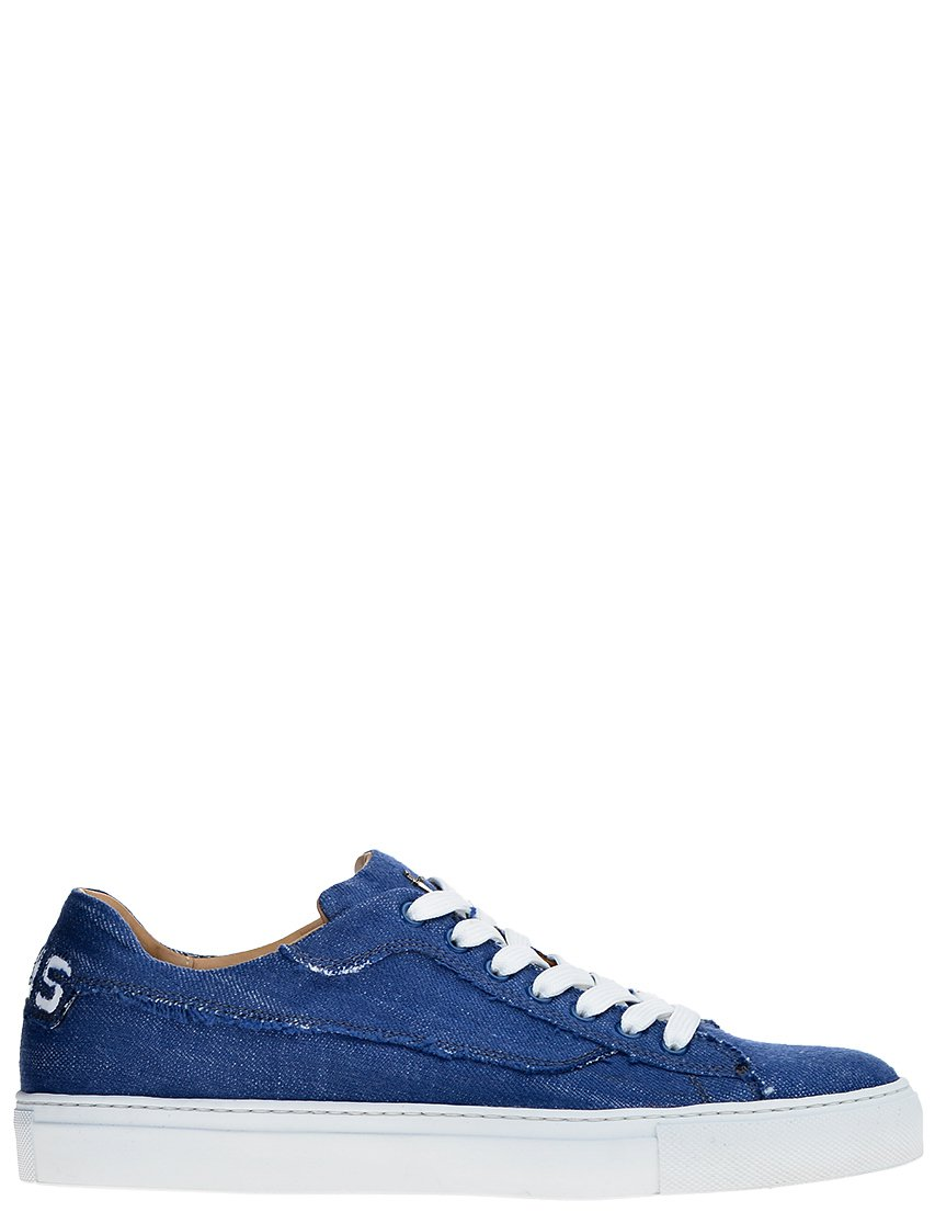 Мужские кеды 4US Cesare Paciotti AGR-505_blue