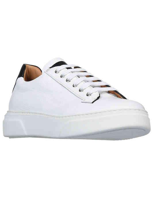 мужские белые Кроссовки Camerlengo 14510-white - фото-2
