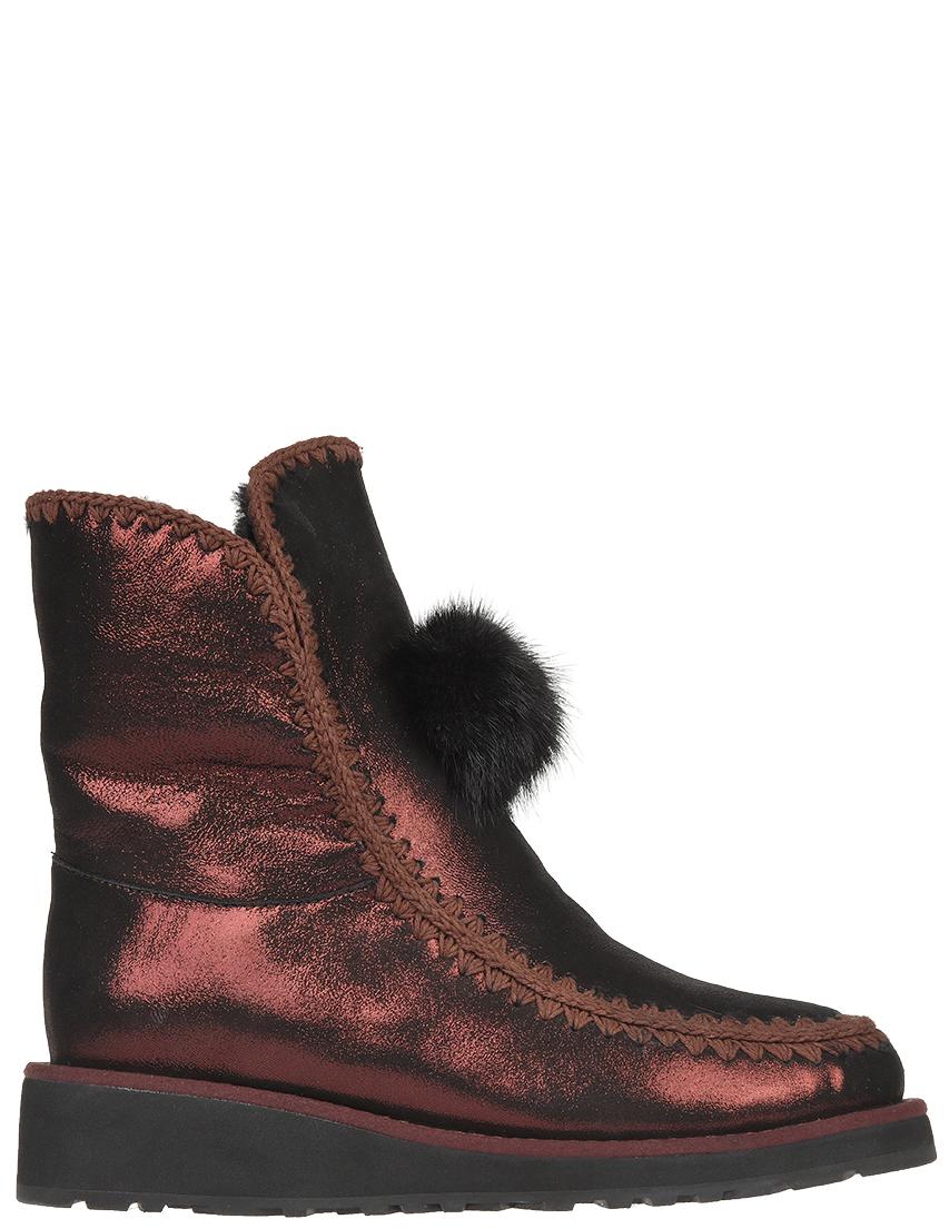 Женские ботинки Gianni Renzi RS1374C_bordo