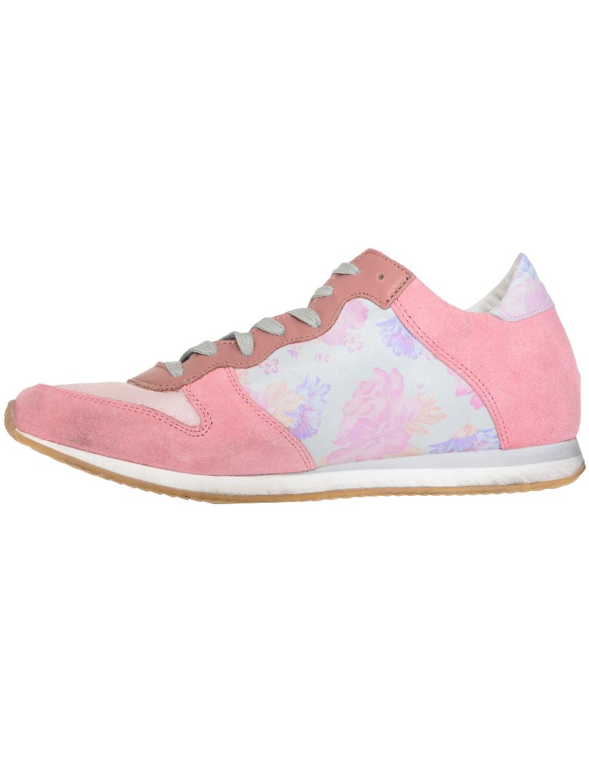 Замшевые розовые кроссовки PATRIZIA PEPE (ITALY)