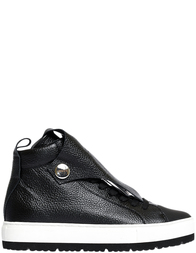 Женские кеды Armani Jeans AGR-5301_black