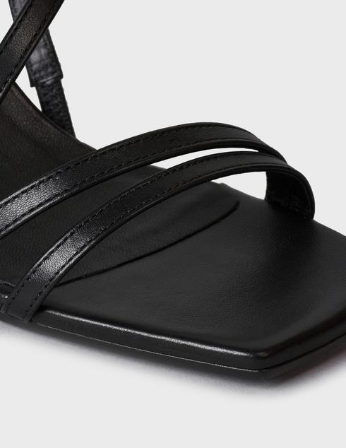 женские черные кожаные Босоножки Vic Matie 1Z5804D.Z18U140101 - фото-5