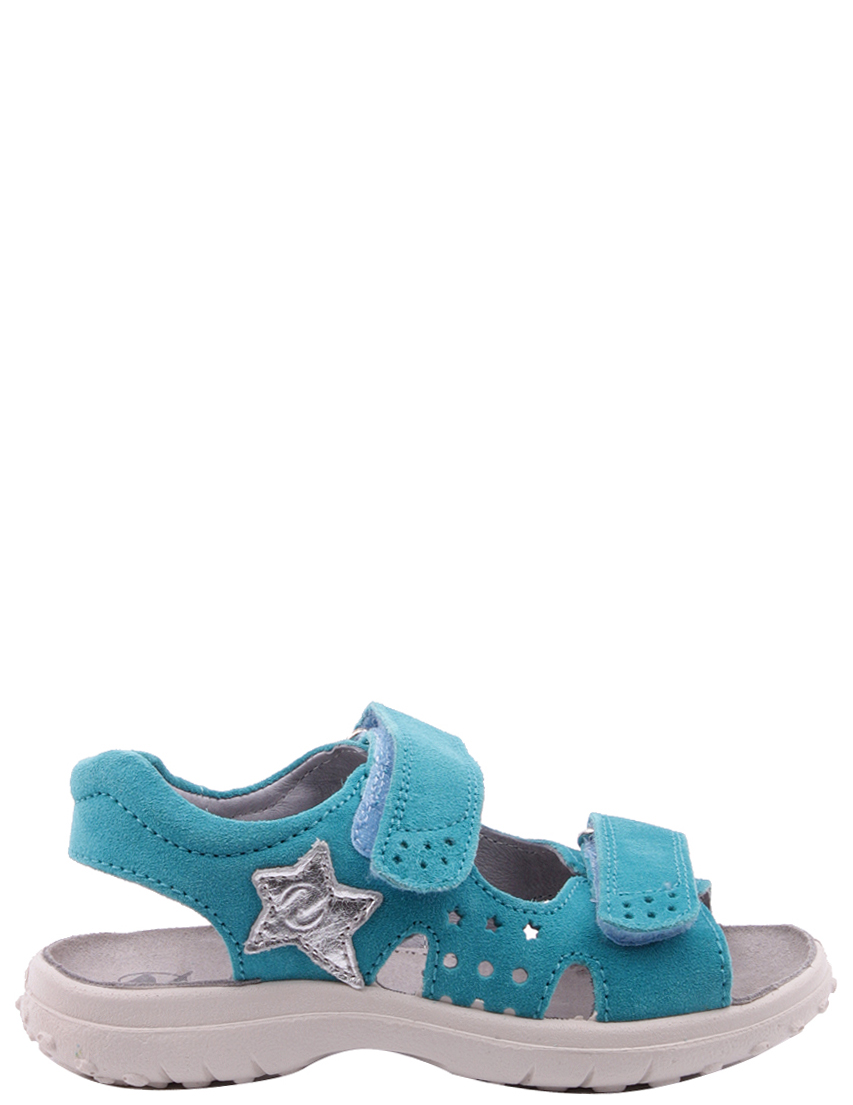 Босоножки для девочек NATURINO 5670-turquoise