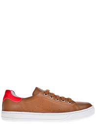 Детские кроссовки для мальчиков Naturino Lenny-cognac-rosso_brownSH