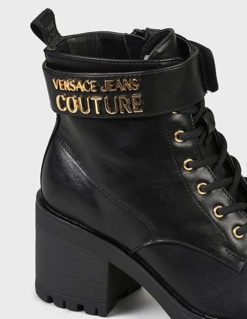 женские черные Ботинки Versace Jeans Couture 71VA3S90-899 - фото-6