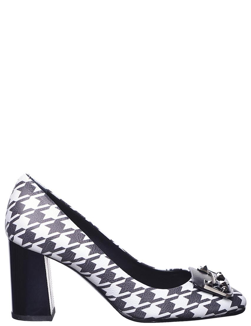 Купить Туфли, GIORGIO FABIANI, Белый, Черный, Осень-Зима