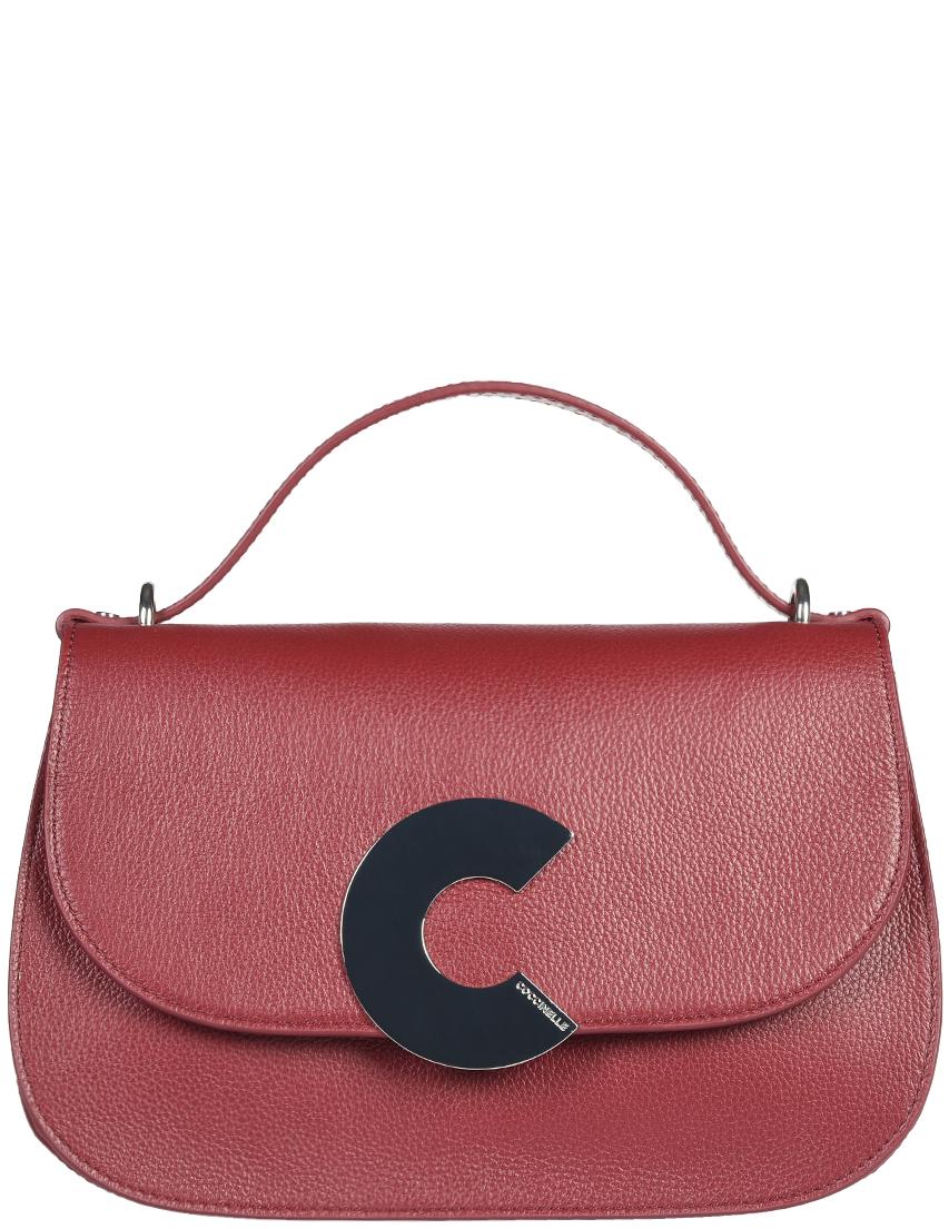 Купить Женские сумки, Сумка, COCCINELLE, Бордовый, Осень-Зима
