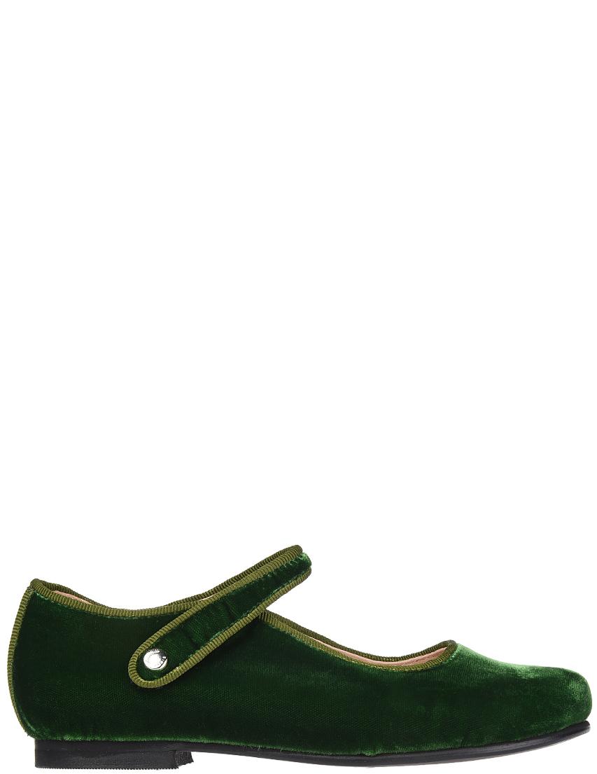 Купить Туфли, JACADI PARIS, Зеленый, Осень-Зима