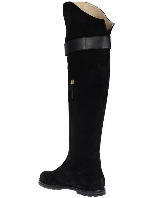 женские черные Ботфорты Vicini S58017_black - фото-2
