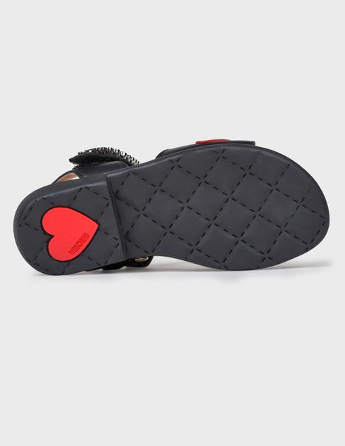 Moschino 26139-nero-rosso-black фото-4