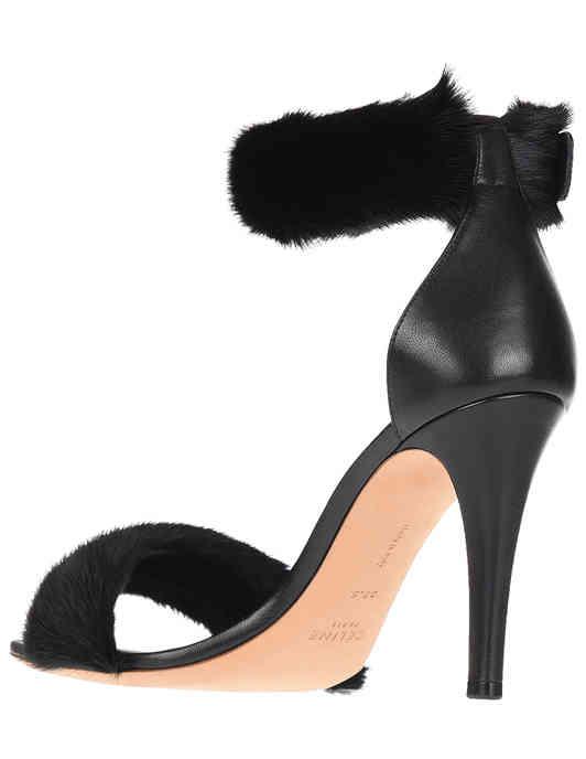 черные женские Босоножки Celine 314544HISC38NO-18_black 23100 грн