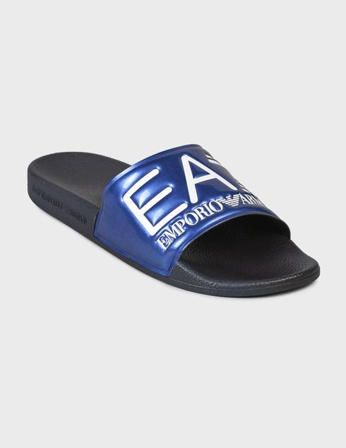 синие Шлепанцы Ea7 Emporio Armani XCP001XCC22-D959