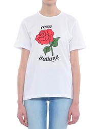 Женская футболка 10X10ANITALIANTHEORY AN26M237--white