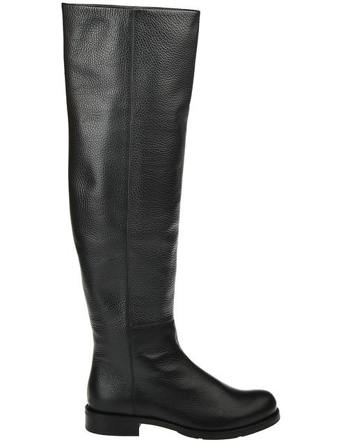 женские черные кожаные Ботфорты Loriblu AGR-9I2K23012T - фото-5
