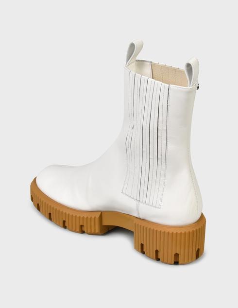 женские белые Ботинки Baldinini D2B620VIGE9002 - фото-2