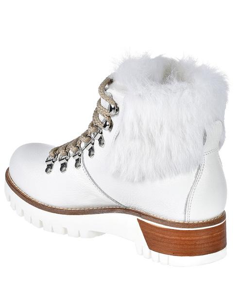 женские белые Ботинки Montelliana MNTL4_997-WHITE - фото-2