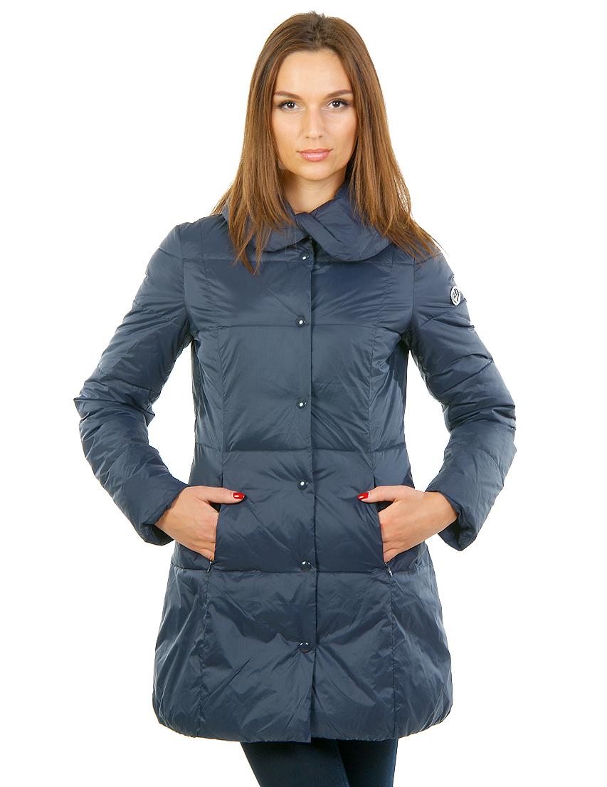 Пальто, ARMANI JEANS, Синий, 100%Полиестер, Осень-Зима  - купить со скидкой