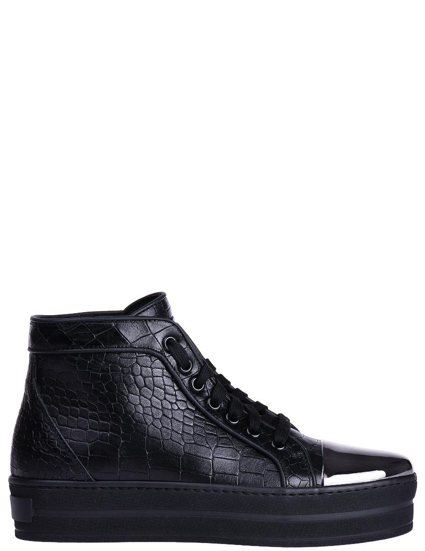 Купить Ботинки, STOKTON, Черный, Осень-Зима