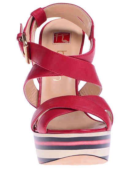 женские красные Босоножки Ballin 121195_red - фото-6