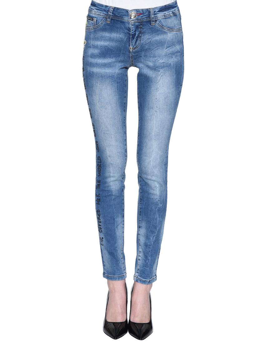 Женские джинсы PHILIPP PLEIN 0574_blue
