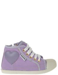 Детские кеды для девочек MOSCHINO 25315_purple