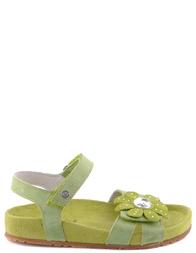 Детские босоножки для девочек NATURINO 4981green
