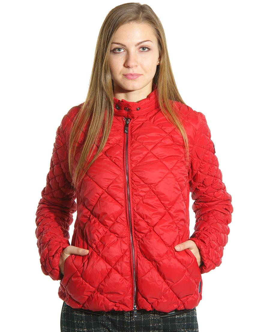 Куртка, ARMANI JEANS, Красный, 100%Полиестер, Осень-Зима  - купить со скидкой