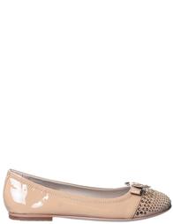 Детские туфли для девочек MISS BLUMARINE B2007_visonebrown