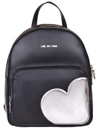 Женский рюкзак Love Moschino 4035-К-silver_black